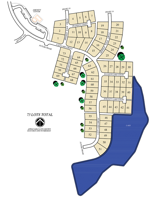 Hideaway site map