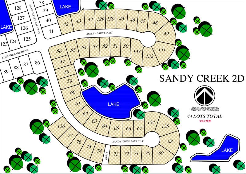 Sandy Creek 2D