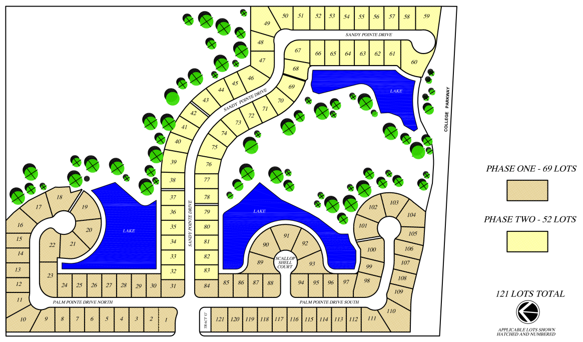Sandy Pointe Preserve Site Plan