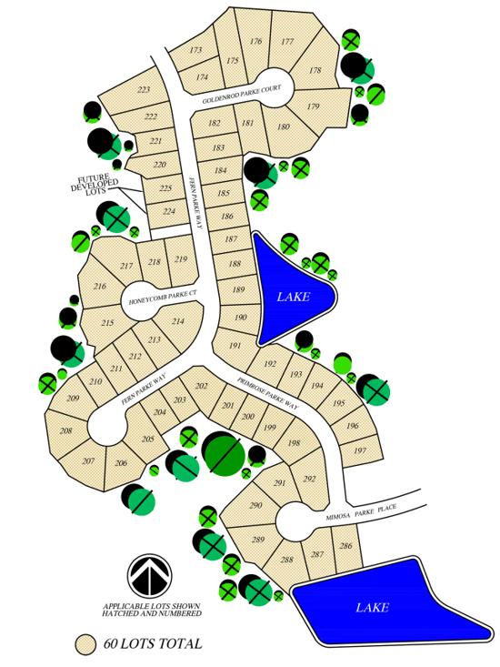 Flora Parke Community Site Plan